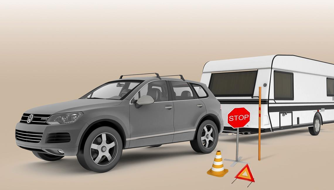 Plastic parts for cars and caravans
